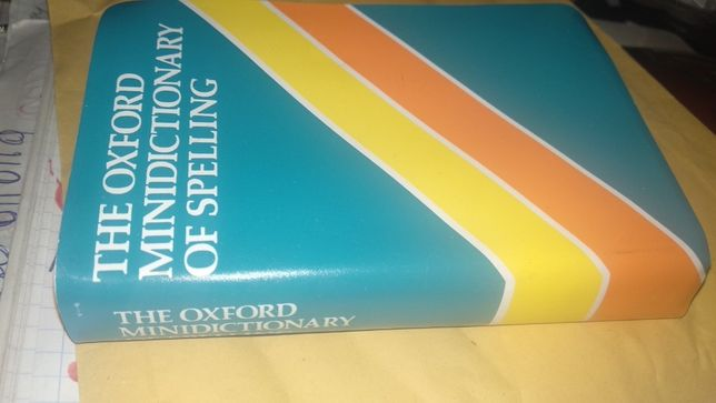 словарь английский the oxford spanish mini dictionary of spelling