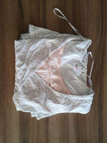 Camisa de dormir maternidade / amamentação nova pré-natal
