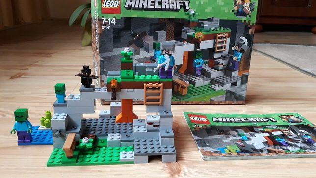 lego minecraft 21141 jaskinia zombie+gratis