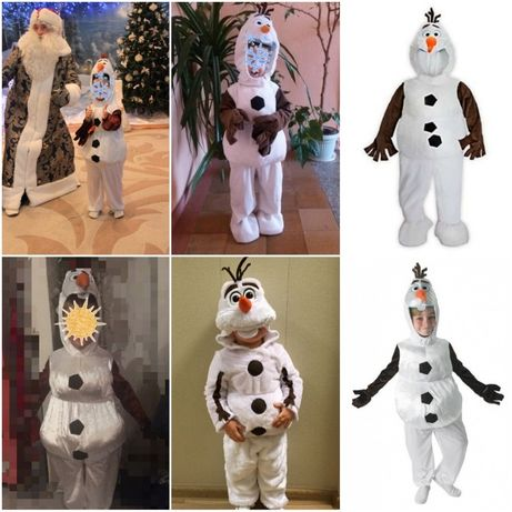 карнавальный костюм снеговик Олаф