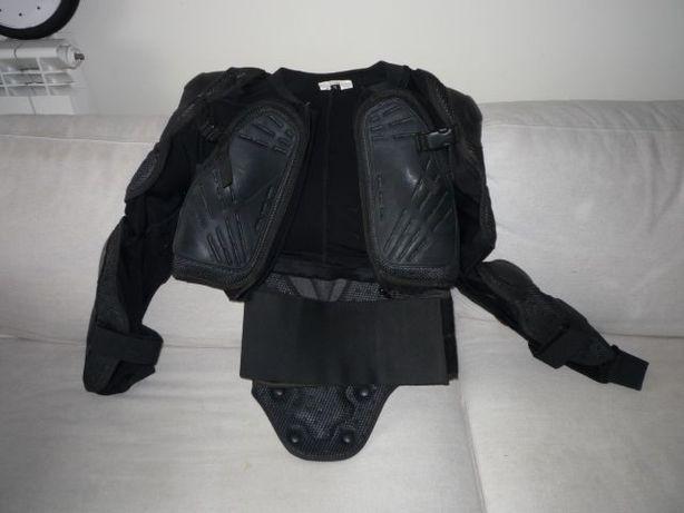colete de proteção skate bike bicicleta downhill mota (novo)