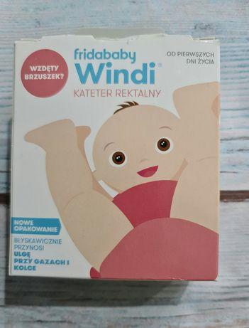 Fridababy Windi, kateter rektalny przy gazach i kolce, 9 sztuk