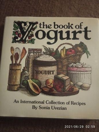 The book of yogurt, książka kucharska w języku angielskim