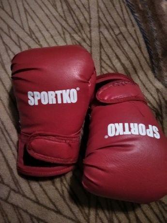 Перчатки боксерские. 6 OZ.