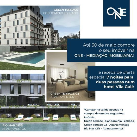 Apartamento T2 Novo em Real, Braga