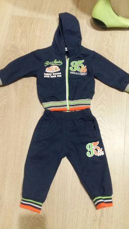 Спортивный костюм на 6-9 месяцев