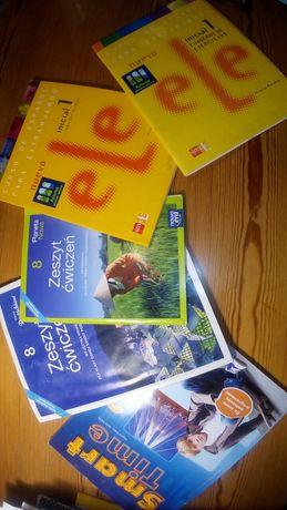 Hiszpański,angielski podręczniki