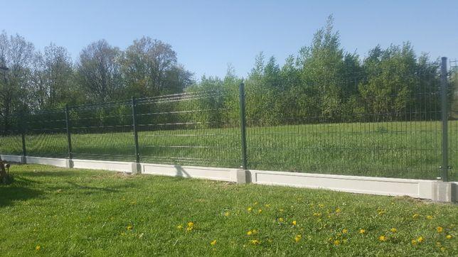 ogrodzenia kompletne panelowe 47 zl metr 51 drutów pionowych