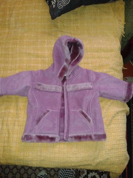 Дитяча дублянка куртка