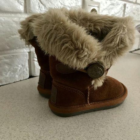 Угги ботинки черевики сапоги замшевие зимние next zara hm