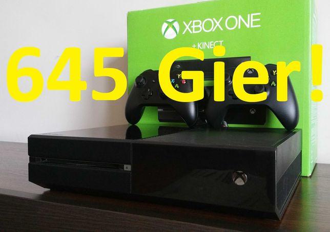 645 GIER!! GWAR FIFA 22 FORTNITE! FORZA 4 X LEGO S Konsola 4K Xbox One