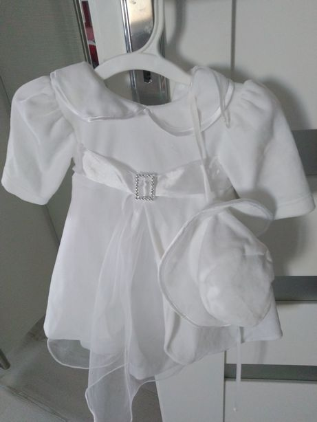 Sprzedam śliczną sukieneczkę do chrztu roz.62