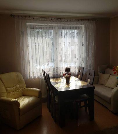 Solidny,rozkładany stół I kompet 4 krzeseł - zestaw VENGE