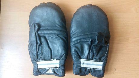Битки перчатки боксерские кожа