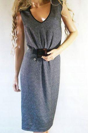 Sukienka biurowa SUNWEAR elegancka r.46