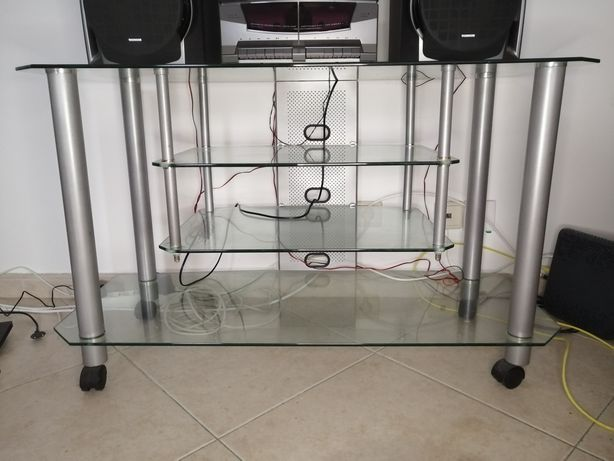Móvel TV em vidro