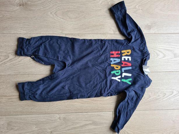 Pajacyk piżamka 80 H&M