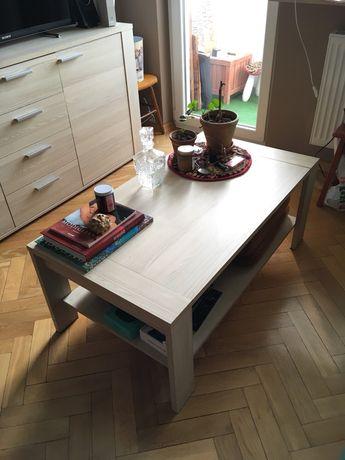 Ława stolik kawowy z półką dąb sonoma