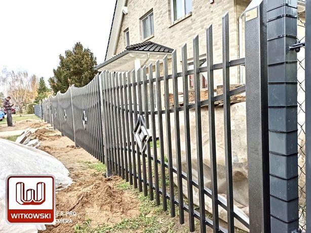 Witkowski Ogrodzenia metalowe-Panele Ogrodzeniowe