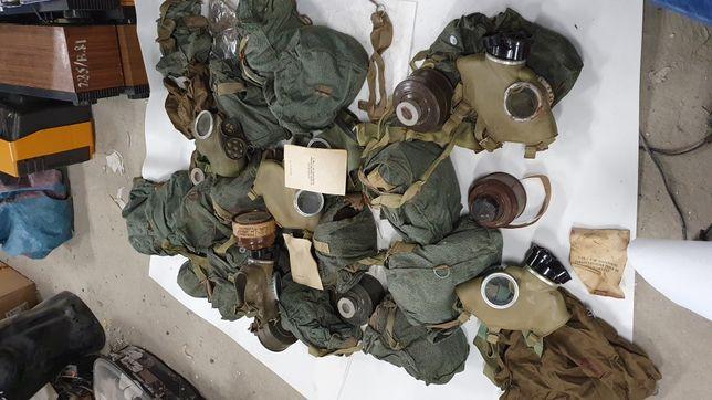 Maski gazowe LWP PRL wojskowe
