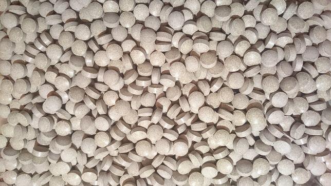 Tabletki soczewkowe Glopex Shrimpstablett - pokarm dla krewetek 50g