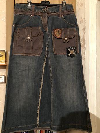 Новая джинсовая юбка Gaudi Vintage 46-48 размер