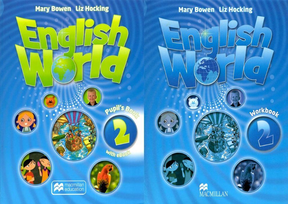 English World 2 комплект: Pupil's Book + Workbook + CD Херсон - изображение 1