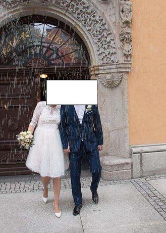 Śliczna suknia do ślubu