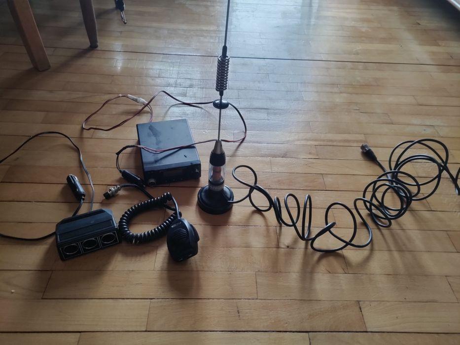 CB radio, komplet z anteną+ Gratis Doruchów - image 1
