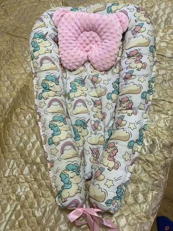 Кокон гнездо новый с подушкой