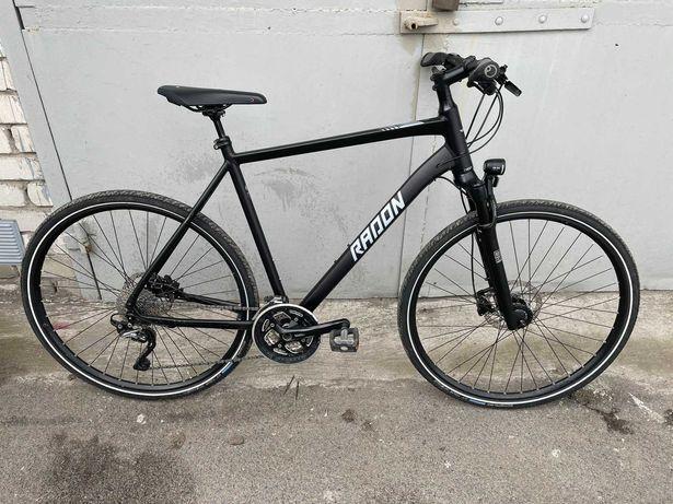 велосипед Radon SUNSET Rock Shox воздух  для высоких XL + cube ghost