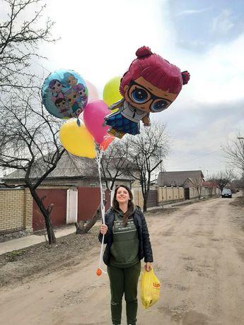Гелиевые шарики Новые Дома Оригинальный подарок Праздничный декор