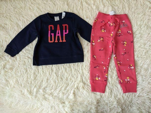 Спортивный костюм gap 3 года Gap штаны свитер худи GAP пуловер флис