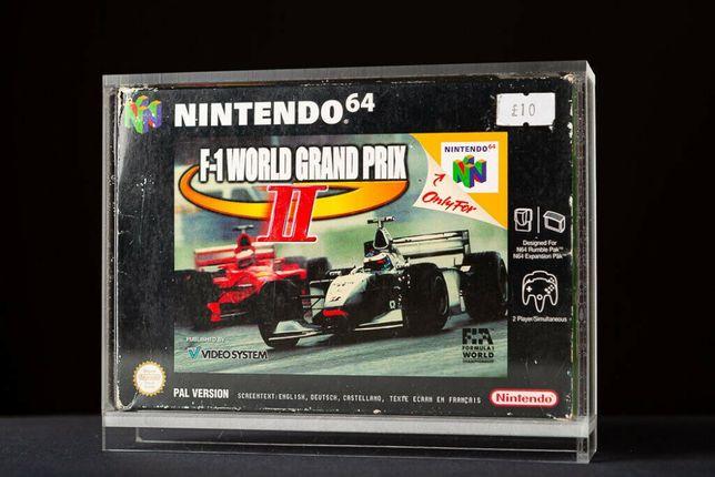 Caixas em acrilico para jogos Nintendo 64