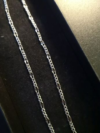 Łańcuszek Figaro unisex srebro 925
