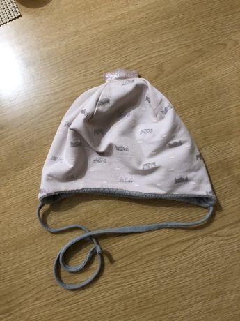 Демисезонная весення шапка шапочка Деми, на объём 44 - 45 - 46 см