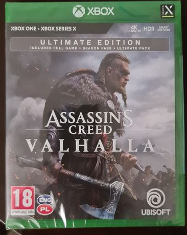 Assassin's Creed Valhalla Ultimate Edition PL XBOX - nowa