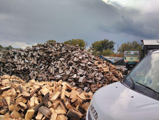 Drewno opałowe / kominkowe - buk, dąb, sezonowane - Żywiec
