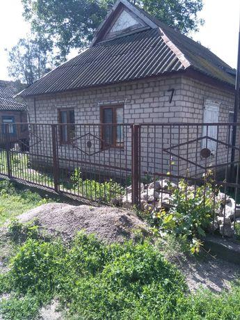 Два дома на берегу Каховского водохранилища