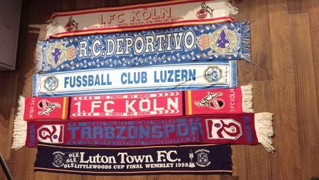 Szaliki 2 x FC Koln Deportivo Luzern Trabzospor Luton Town