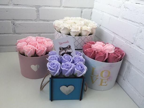 Розы из мыла, цветы из мыла,неувядающие букеты,букеты из мыла