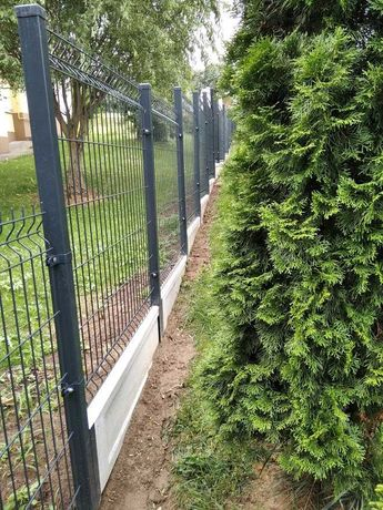 Montaż paneli ogrodzeniowych, bramy, furtki, przęsła