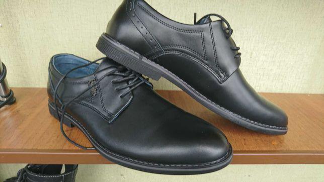 Чоловіче взуття, шкіра 43розмір