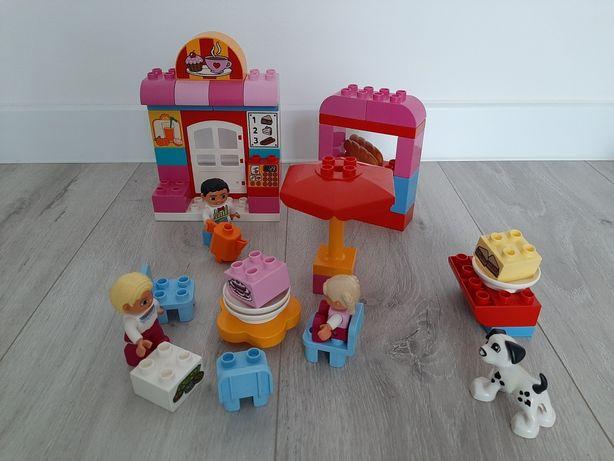 LEGO DUPLO 10587 Kawiarenka, Cukiernia, Kawiarnia, Klocki