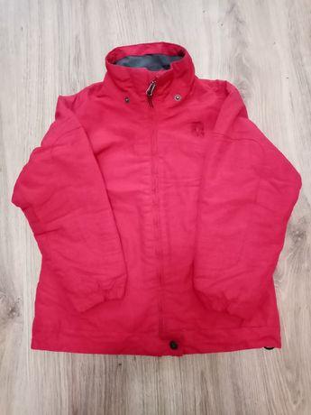 Куртка красная деми, 8лет