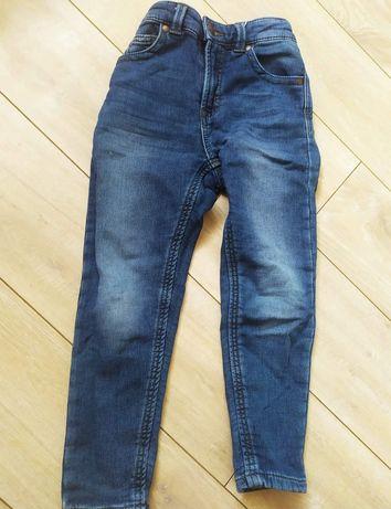 Spodnie skiny miękki jeans