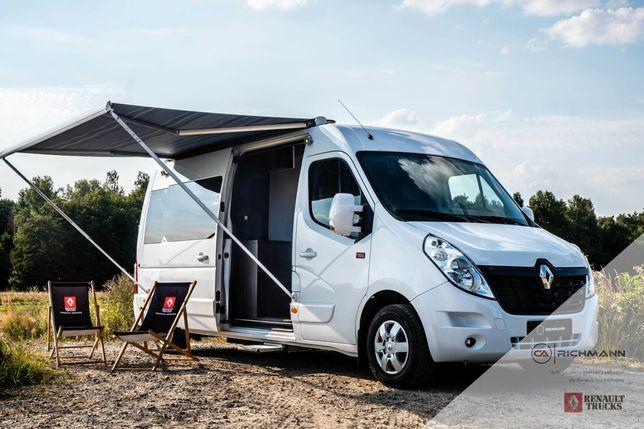 Renault Master Kamper na wynajem, 4 osobowy, WC, kuchnia,Wolne terminy