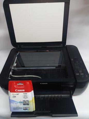 Принтер струйный Canon MP280+новые катриджы