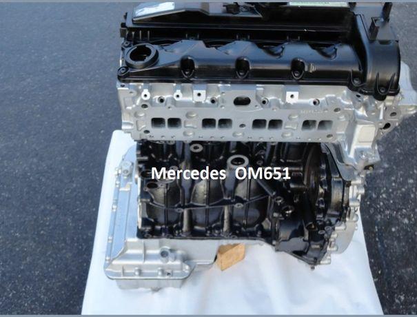 Silnik Mercedes A651 om651 2.2 CDI GWARANCJA 6 Msc