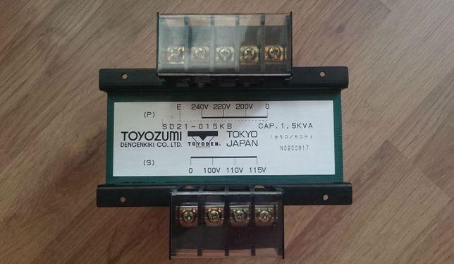 Понижающий трансформатор TOYOZUMI SD21-015KB (1500VA) 100-120V/220-240